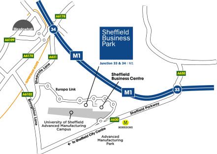 Location   Sheffield Business Park